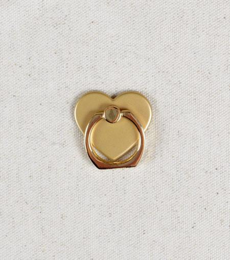 LMNT Gold Heart Universal Cell Phone Ring Stand