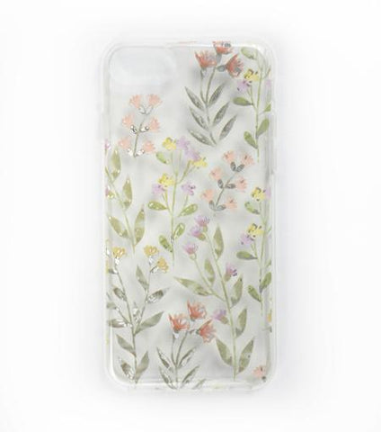 LMNT Light Green, Pink And Yellow Printed Flower iPhone®Case