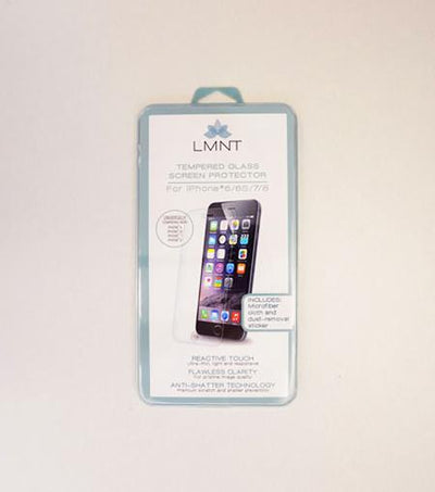 LMNT Tempered Glass Screen Protector For iPhone® 6/6s/7/8