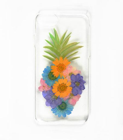 LMNT Pineapple Pressed Flower iPhone®Case