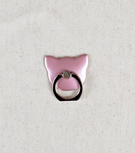 LMNT Rose Gold Cat Universal Cell Phone Ring Stand