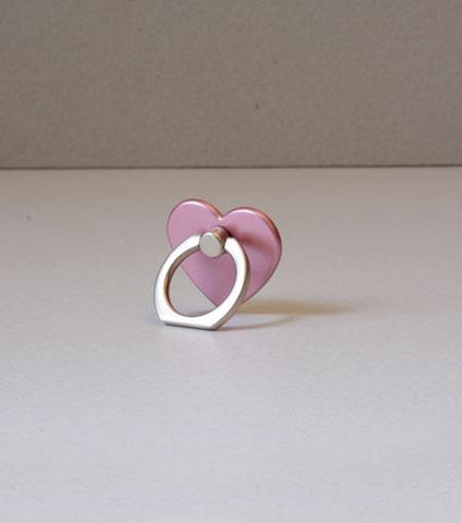 LMNT Rose Gold Heart Universal Cell Phone Ring Stand