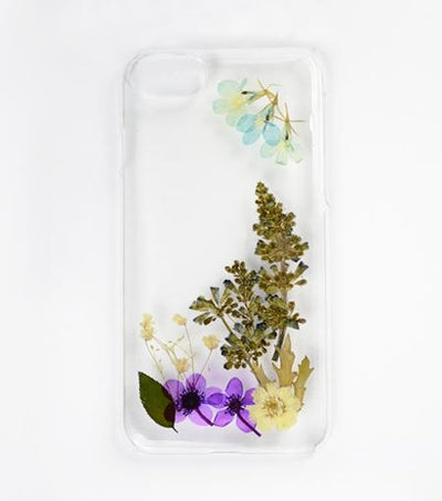 LMNT Natural Pressed Flower iPhone®Case