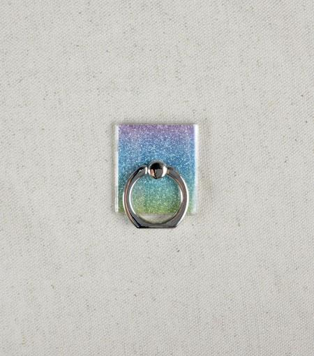 LMNT Iridescent Glitter Universal Cell Phone Ring Stand