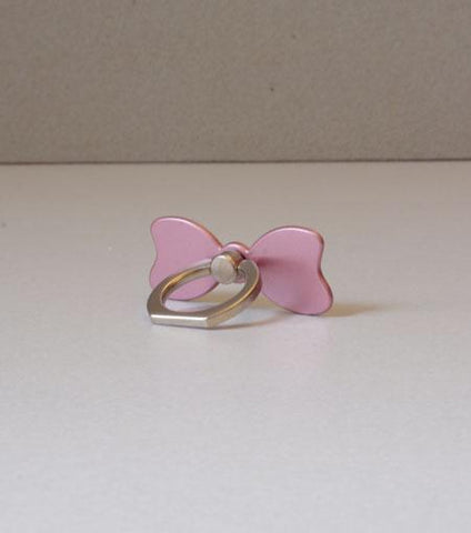 LMNT Rose Gold Bow Universal Cell Phone Ring Stand