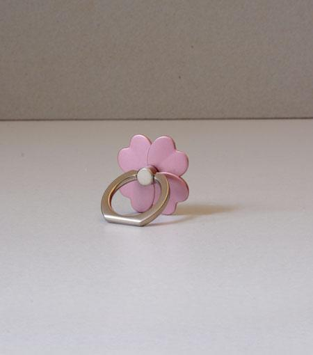 LMNT Rose Gold Flower Universal Cell Phone Ring Stand