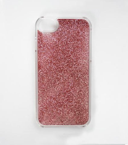 LMNT Rose Quartz Glitter iPhone®Case