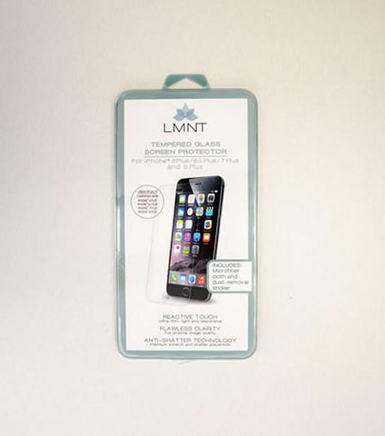 LMNT Tempered Glass Screen Protector For iPhone®6 Plus/6s Plus/7 Plus/8 Plus