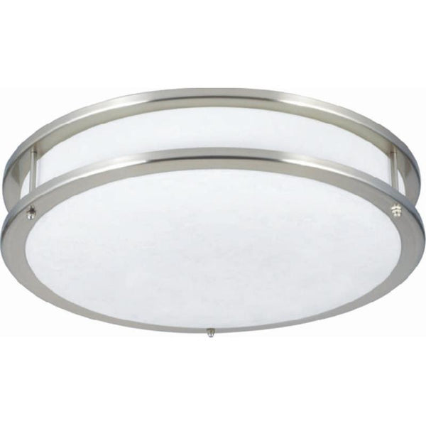 LED Ringed Ceiling Fixture
