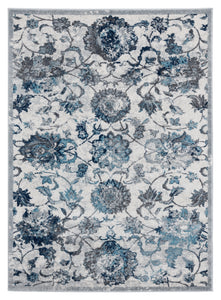 United Weavers  Bali  Sicily  1815 30572  Grey  Area Rug