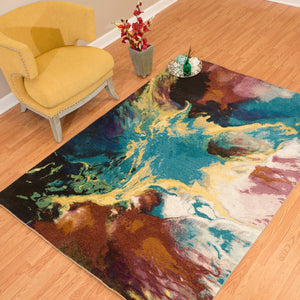 United Weavers  Rhapsody  Nebula  1830 30875  Multi  Area Rug