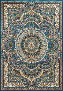United Weavers  Antiquities  Sarouk  1900 01262  Cerulean  Area Rug