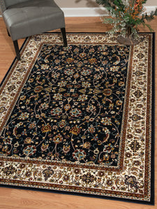United Weavers  Antiquities  Isphahan  Navy  Area Rug