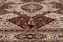 United Weavers  Antiquities  Kirman Jewel  1900 01739  Ruby  Area Rug
