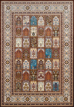 United Weavers  Antiquities  Mecca  1900 01955  Dark Brown  Area Rug