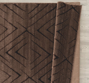 United Weavers  Mystique  Aisling  1955 02350  Brown  Area Rug