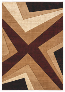 United Weavers  Bristol  Zine  2050 10034  Burgundy  Area Rug