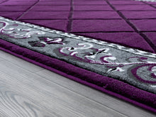 United Weavers  Bristol  Altamont  2050 10982  Plum  Area Rug