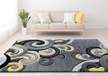United Weavers  Bristol  Rhiannon  Yellow  Area Rug