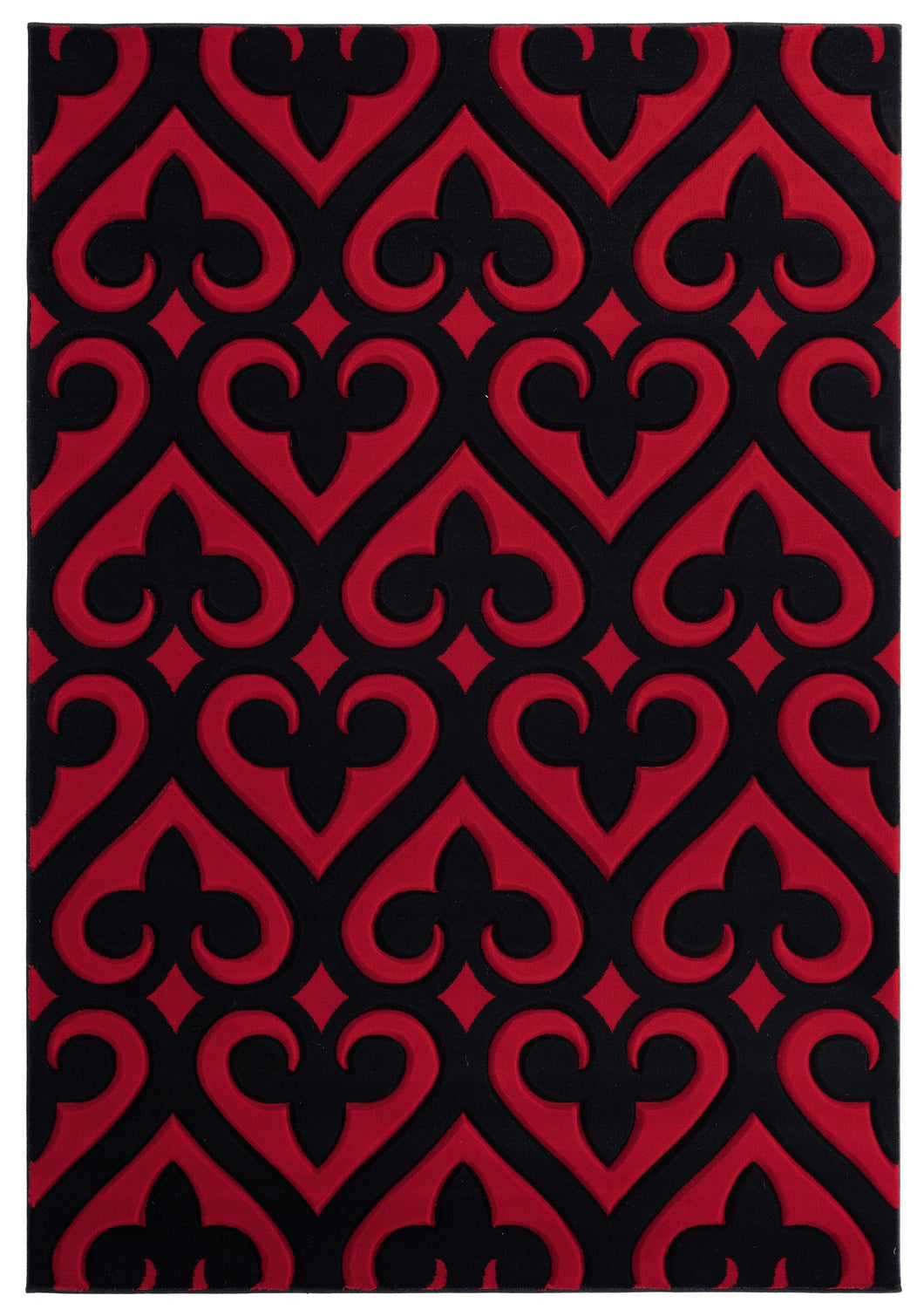 United Weavers  Bristol  Heartland  2050 11430  Red  Area Rug