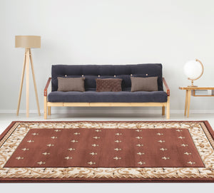 United Weavers  Bristol  Wington  2050 11650  Brown  Area Rug