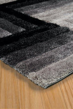 United Weavers  Finesse  Flagstone  2100 20370  Black  Area Rug