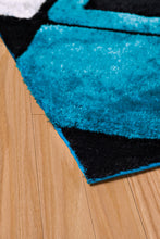United Weavers  Finesse  Plush  2100 21063  Aqua  Area Rug