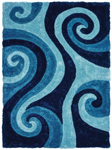 United Weavers  Finesse  Chimes  2100 21560  Blue  Area Rug