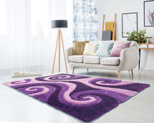 United Weavers  Finesse  Chimes  2100 21583  Violet  Area Rug