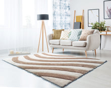 United Weavers  Finesse  Streamer  2100 21626  Beige  Area Rug