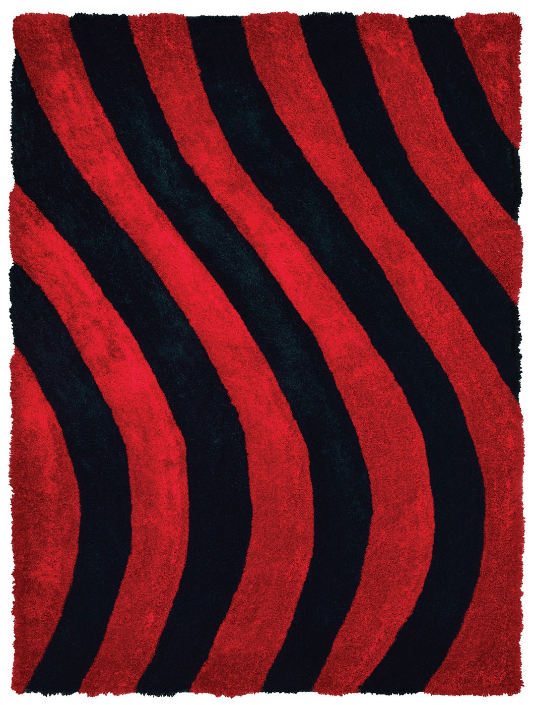 United Weavers  Finesse  Streamer  2100 21630  Red  Area Rug