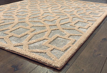 United Weavers  Pure  Lemniscate  2320 30241  Seafoam  Area Rug