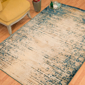 United Weavers  Jules  Radical  3000 00362  Cerulean  Area Rug