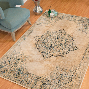 United Weavers  Jules  Opal  3000 00419  Parchment  Area Rug