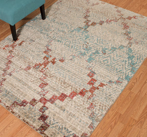 United Weavers  Jules  Diamonds  3000 00875  Multi  Area Rug
