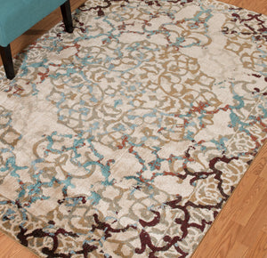United Weavers  Jules  Andalusite  3000 00994  Taupe  Area Rug