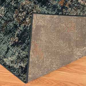 United Weavers  Bridges  Via Vicosa  3001 00160  Blue  Area Rug
