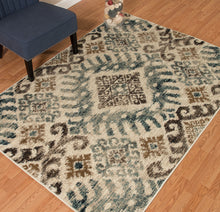 United Weavers  Bridges  Verazanno  3001 00260  Blue  Area Rug