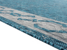 United Weavers  Augusta  Whitehaven  3900 10063  Aqua  Area Rug