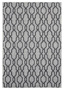 United Weavers  Augusta  Belle Mare  3900 10470  Black  Area Rug