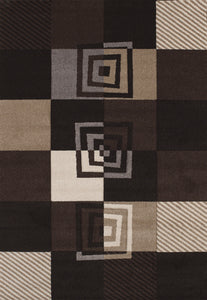 United Weavers  Townshend  Vibes   401 00470  Black  Area Rug