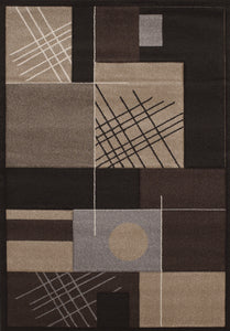 United Weavers  Townshend  Touche  401 01470  Black  Area Rug