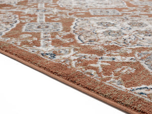 United Weavers  Century  Epoch  4500 10538  Burnt Orange  Area Rug