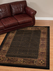 United Weavers  China Garden  Cypress  550 22156  Tobacco  Area Rug