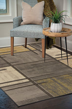 United Weavers  Contours  Stiletto  702 29172  Grey  Area Rug