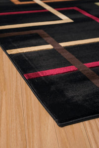United Weavers  Contours  City Walk  702 33376  Onyx  Area Rug