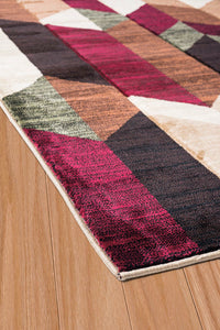 United Weavers  Contours  Dominion  702 33675  Multi  Area Rug