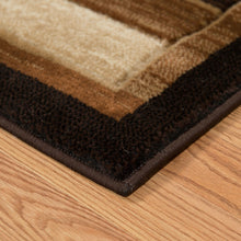 United Weavers  Studio  Painted Deck  710 00450  Brown  Area Rug