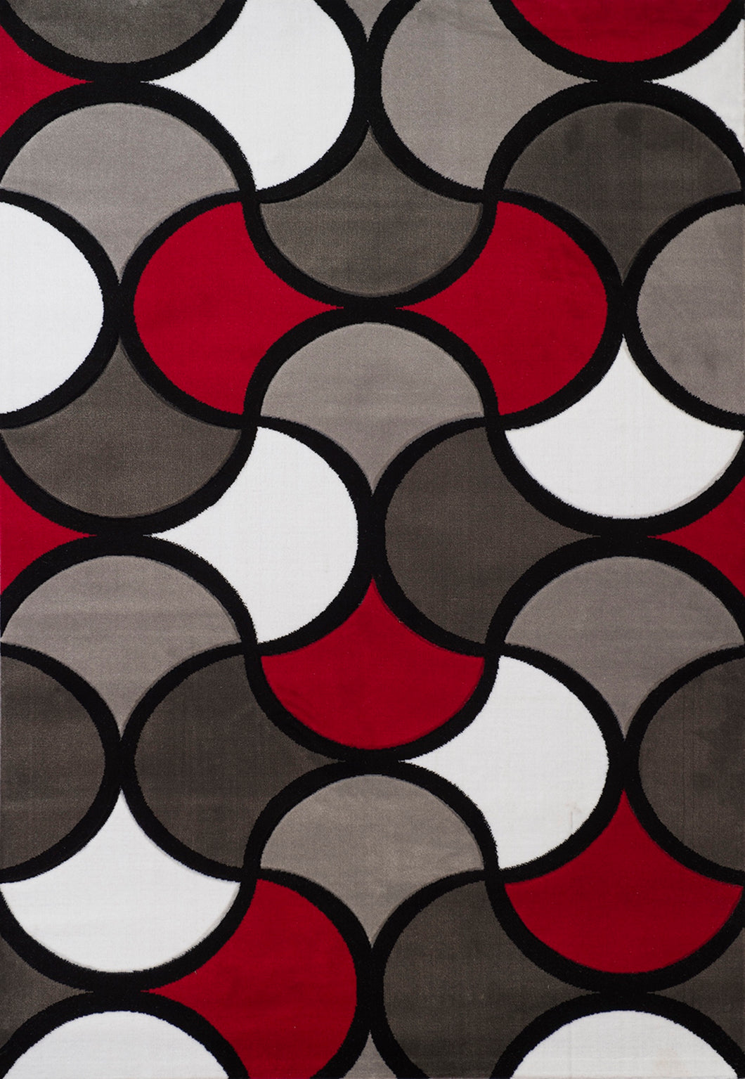 United Weavers  Studio  Montgolfier  710 01730  Red  Area Rug