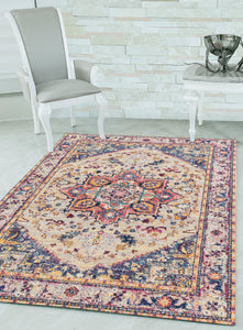 United Weavers  Abigail  Zariah  713 20990  Cream  Area Rug